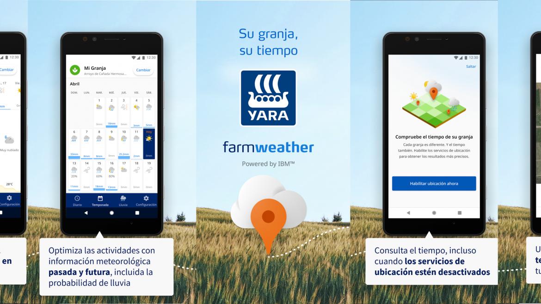 FarmWeather, pronósticos para tu explotación agraria