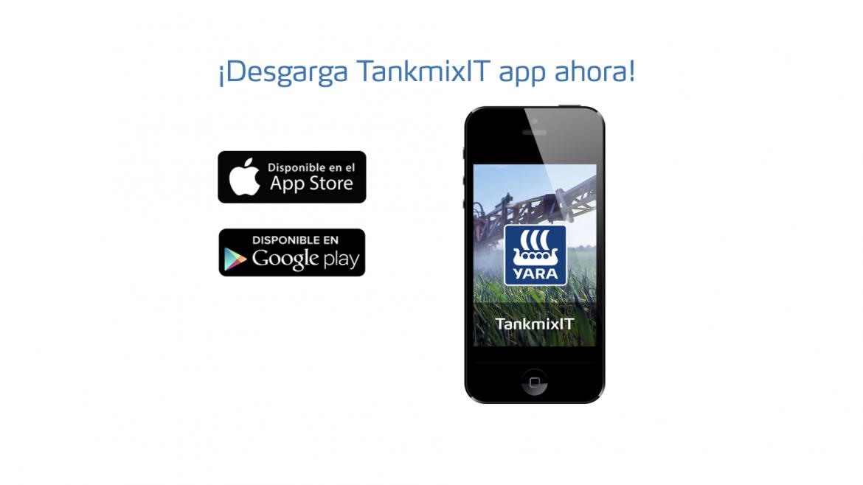 TankmixIT, la aplicación de Yara que te ayuda a preparar tus mezclas